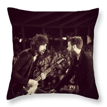 Kasabian Throw Pillow by Stew Lamb
