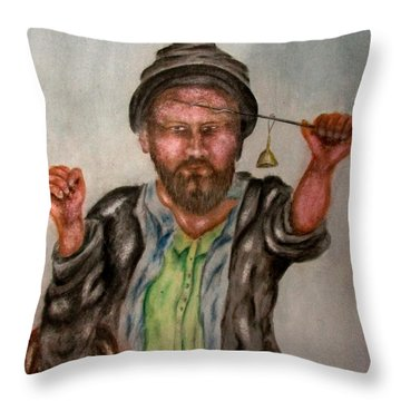 Kashmiri Throw Pillow
