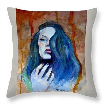 Kasia Ikasia Throw Pillow