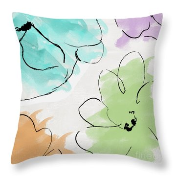 Kasumi Throw Pillow by Mindy Sommers