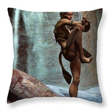 Kata Throw Pillow