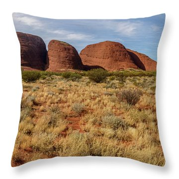 Kata Tjuta 10 Throw Pillow