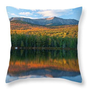 Katahdin Glow Throw Pillow