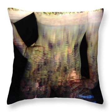 Kate Throw Pillow by Arla Patch
