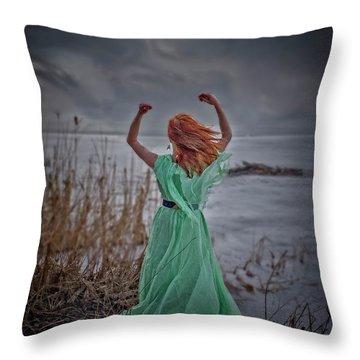 Katharsis Series 3/3 Release Throw Pillow