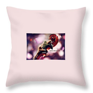 Kathrin Werderitsch Throw Pillow