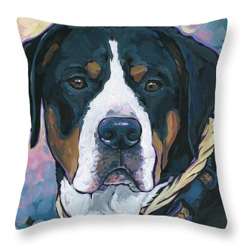 Katie Throw Pillow by Nadi Spencer