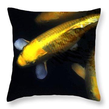Kauai Koi Throw Pillow