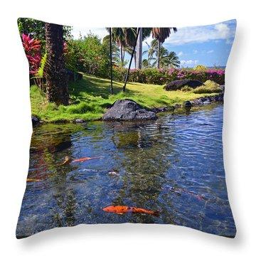 Kauai Serenity Throw Pillow