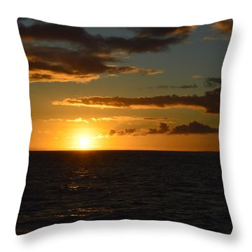 Kauai Sunset Throw Pillow