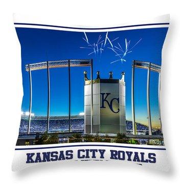 Kauffman Victory Throw Pillow