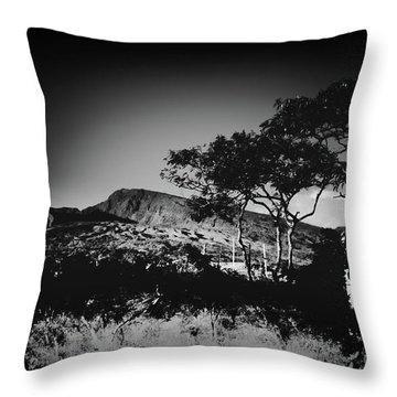 Kaupo Gap East Maui Hawaii Throw Pillow by Sharon Mau