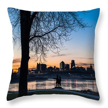 Kaw Point Park Throw Pillow