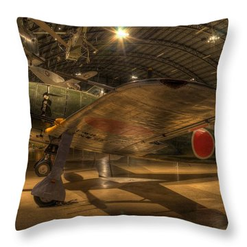 Kawanishi N1k2-ja Throw Pillow