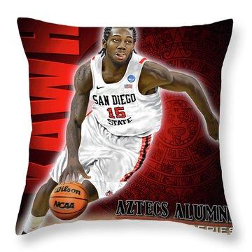 Kawhi Throw Pillow