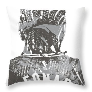 Kawhi Leonard San Antonio Spurs Pixel Art 19 Throw Pillow