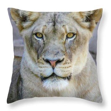 Kaya Portrait Throw Pillow
