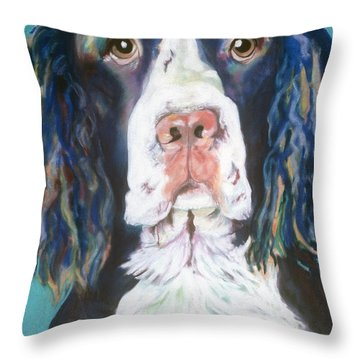 Kayla Throw Pillow by Pat Saunders-White