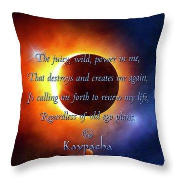 Kaypacha August 31, 2016 Throw Pillow