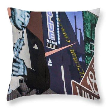 Kc Mural 1 Throw Pillow