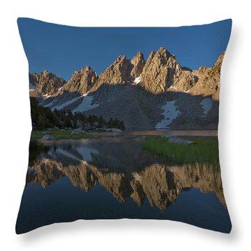 Kearsarge Lakes Morning II Throw Pillow