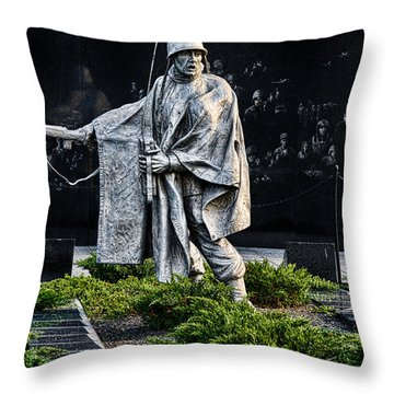 Keep Going...for Them Throw Pillow by Christopher Holmes