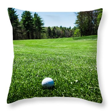 Keep Your Eye On The Ball Throw Pillow
