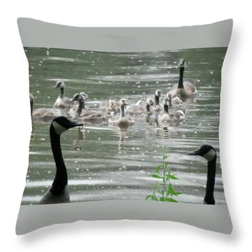 Keepers Of The Gate Throw Pillow