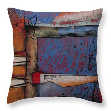 Keeping It Together Throw Pillow