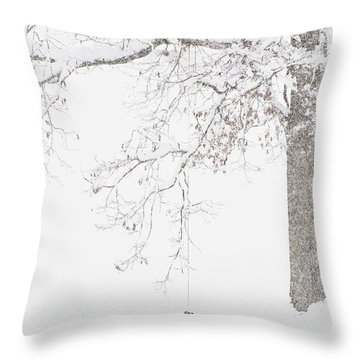 Keeping Watch Throw Pillow by Thomas R Fletcher