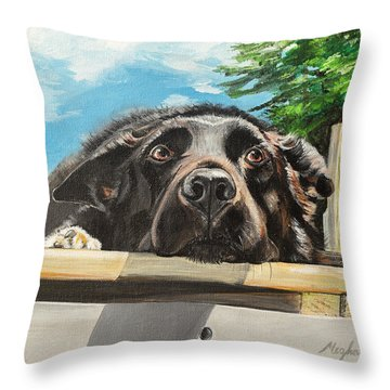 Keidis  Throw Pillow