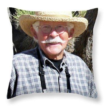 Keith Axelson Throw Pillow