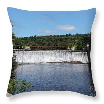 Kelly Dam Throw Pillow