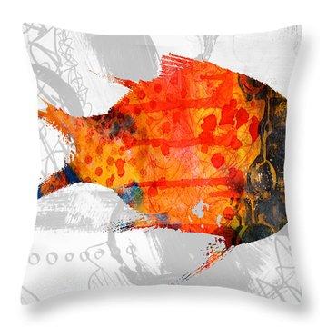 Kelp Runner Throw Pillow