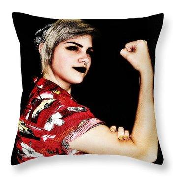 Kelsey 3 Throw Pillow