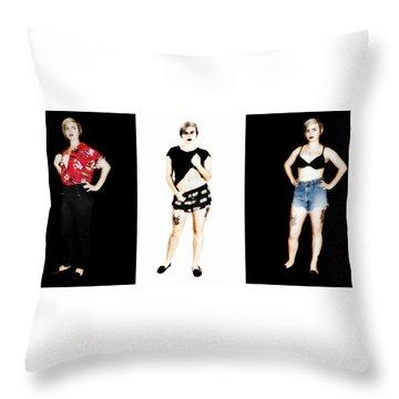 Kelsey 4 Throw Pillow
