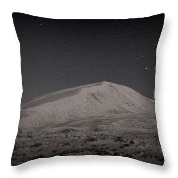 Kelso Dunes At Night Throw Pillow