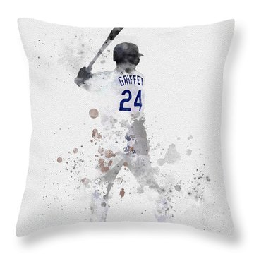 Ken Griffey Jr Throw Pillow
