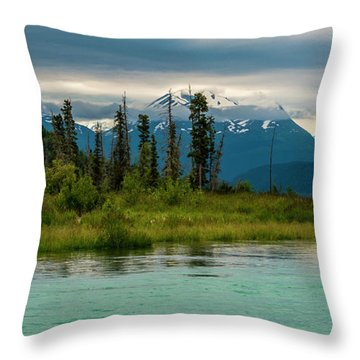 Throw Pillow featuring the photograph Kenai by Gary Lengyel