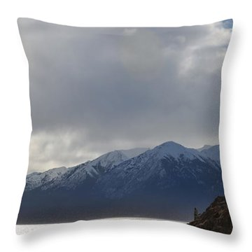 Kenai Peninsula Throw Pillow