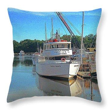 Kennebunk, Maine - 2 Throw Pillow by Jerry Battle