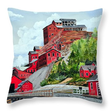 Kennecott Throw Pillow