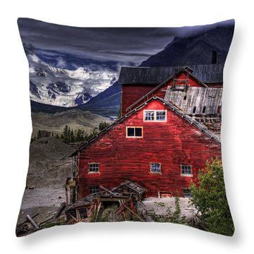 Kennecott Mine  Throw Pillow