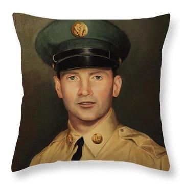Kenneth Beasley Throw Pillow