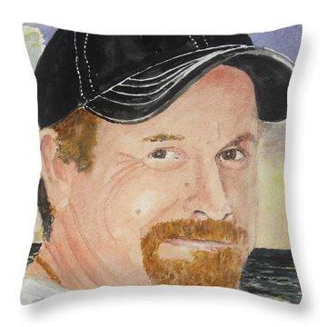 Kenny Brown Memorial Throw Pillow