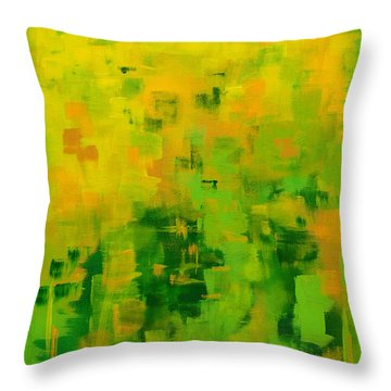 Kenny's Room Throw Pillow
