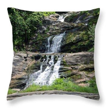 Kent Falls 1 Throw Pillow