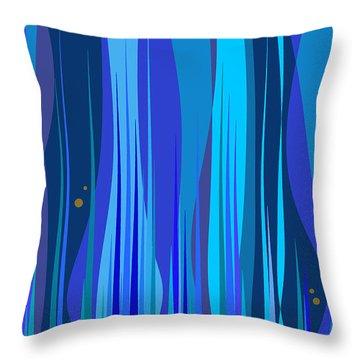Kentucky Blue Grass Throw Pillow