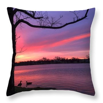 Kentucky Dawn Throw Pillow by Sumoflam Photography