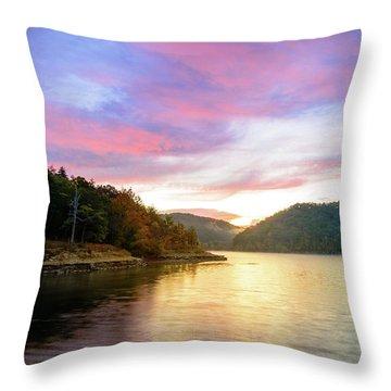 Kentucky Gold Throw Pillow